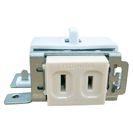 東芝 TOSHIBA 換気扇応用部品 ビルトインコンセント BCT-1