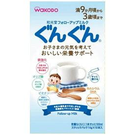アサヒグループ食品 Asahi Group Foods フォローアップミルクぐんぐんスティックパック 14g×10【wtbaby】