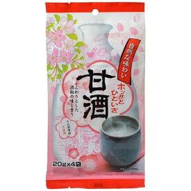 今岡製菓 IMAOKA 今岡製菓 甘酒 20gx4袋