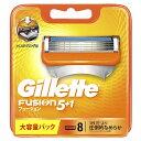 ジレット 【Gillette(ジレット)】フュージョン 5+1 替刃 8個入
