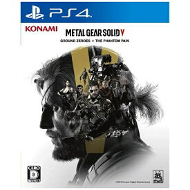 コナミデジタルエンタテイメント Konami Digital Entertainment METAL GEAR SOLID V: GROUND ZEROES + THE PHANTOM PAIN【PS4ゲームソフト】