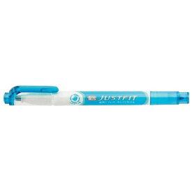 ゼブラ ZEBRA [蛍光ペン] ジャストフィット 青 WKT17-BL WKT17-BL