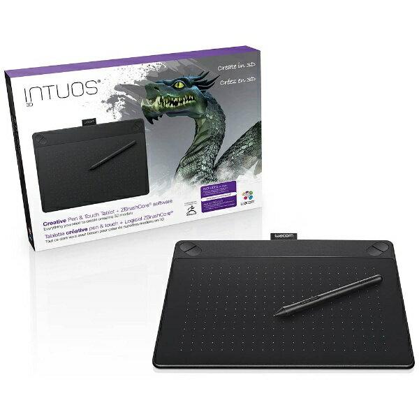 【送料無料】 WACOM ペンタブレット Intuos3D ブラック CTH-690/K2