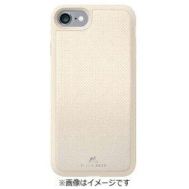 BLACKROCK ブラックロック iPhone 7用 レザーケース Material Case Leather Mesh アイボリー 1025MMS22