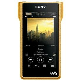 ソニー SONY ウォークマン WALKMAN 2016年モデル NW-WM1ZNM Signature Series ゴールド [256GB /ハイレゾ対応][ウォークマン 本体 NWWM1ZNM]