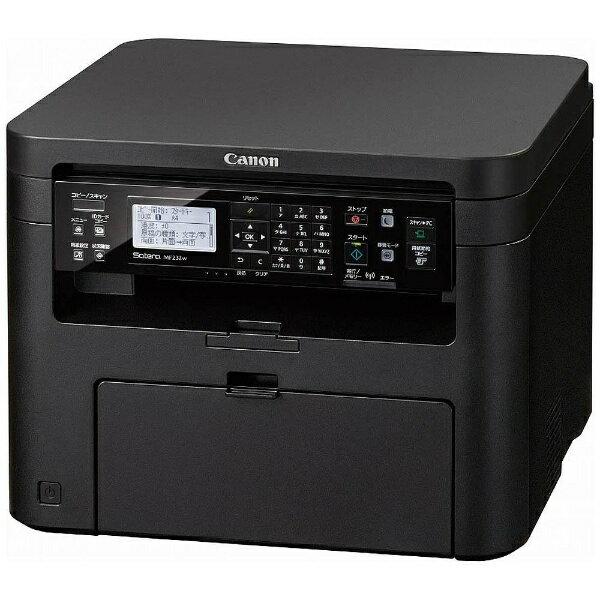 【送料無料】 キヤノン CANON A4モノクロレーザープリンター[無線&有線LAN/USB2.0] Satera MF232w