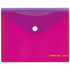 コクヨ KOKUYO [ケース] ホックケース カラータグ M ピンク CTクケ-C5320P
