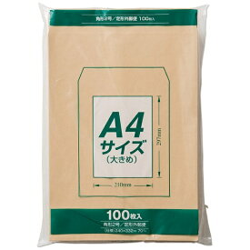 マルアイ [封筒] クラフト封筒 角形2号 100枚 PK-Z127