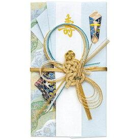 マルアイ MARUAI [祝儀袋] 舞シリーズ みやび 亀 青 1枚 キ-599B