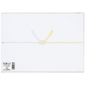 マルアイ MARUAI [のし紙] 仏のし紙 黄水引 B4 厚口 パック入 6枚入 Pノフ-N3B4