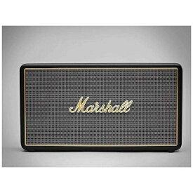 MARSHALL STOCKWELLBLACK ブルートゥース スピーカー ブラック [Bluetooth対応][STOCKWELLBLACK]