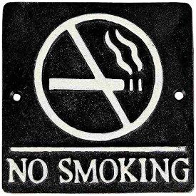 ダルトン DULTON スクエアサイン NO SMOKING BL S355-117ABK <ZSIA601>[ZSIA601]