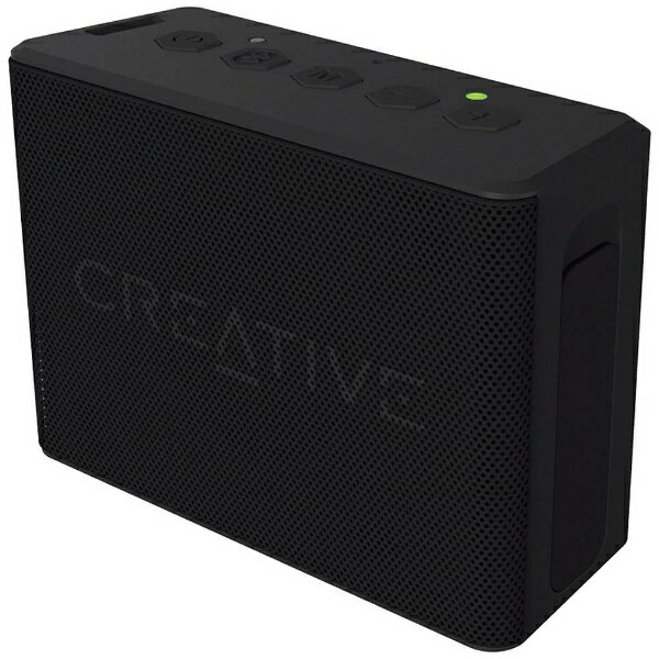 クリエイティブメディア ブルートゥーススピーカー Creative MUVO 2c SP-MV2C-BK ブラック [防水]