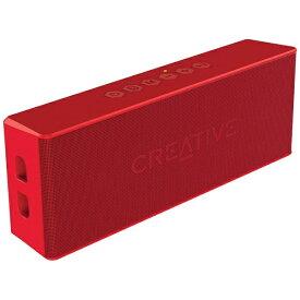 クリエイティブメディア CREATIVE SP-MV2-RD ブルートゥース スピーカー Creative MUVO 2 レッド [Bluetooth対応 /防水][SPMV2RD]