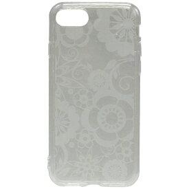 OWLTECH オウルテック iPhone 7用 gufo TPUケース クリア ストラップホール付 フラワー OWL-CVIP716FL-CL