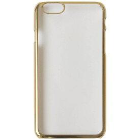 OWLTECH オウルテック iPhone 7 Plus用 PCケース 無地 ゴールド OWL-CVIP7P17PL-GO