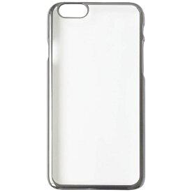 OWLTECH オウルテック iPhone 7 Plus用 PCケース 無地 ガンメタルグレー OWL-CVIP7P17PL-GM
