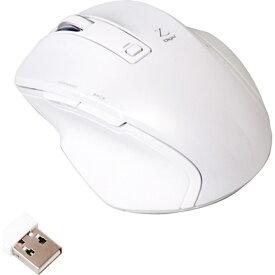 ナカバヤシ Nakabayashi マウス Digio2 Zシリーズ ホワイト MUS-RKF119W [BlueLED /無線(ワイヤレス) /5ボタン /USB][MUSRKF119W]【rb_pcacc】