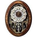 リズム時計 RHYTHM 電波からくり時計 「スモールワールドレガロ」 4MN546RH06