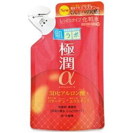 ロート製薬 ROHTO 肌研(ハダラボ) 極潤 α 3Dヒアルロン酸保湿化粧水 しっとりタイプ(170ml) つめかえ用[化粧水]