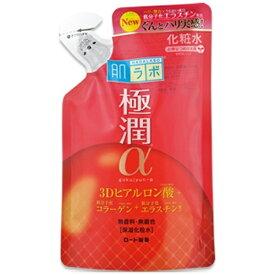ロート製薬 ROHTO 肌研(ハダラボ) 極潤 α 3Dヒアルロン酸保湿化粧水(170ml) つめかえ用[化粧水]【wtcool】