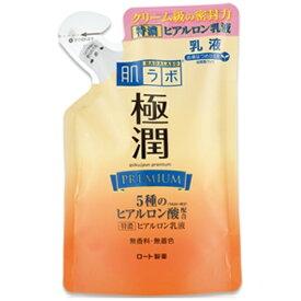 ロート製薬 ROHTO 肌研(肌ラボ)極潤 プレミアムヒアルロン乳液 つめかえ用 140ml