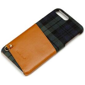 PGA iPhone 7 Plus用 カードポケット付き ハードケース グリーン PG-16LCA01GR