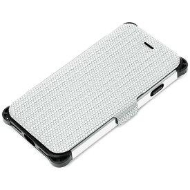 PGA iPhone 7用 手帳型 タフフリップカバー メタルカラー シルバー PG-16MFP34SV