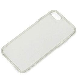 PGA iPhone 7用 TPUスーパースリムケース クリアブラック PG-16MTP02BK[iPhoneケース]