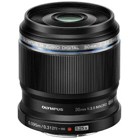 オリンパス OLYMPUS カメラレンズ ED 30mm F3.5 Macro M.ZUIKO DIGITAL(ズイコーデジタル) ブラック [マイクロフォーサーズ /単焦点レンズ][ED30MMF35MACRO]