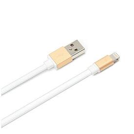 PGA [ライトニング] ケーブル 充電・転送 (0.8m・ゴールド)MFi認証 PG-LC08M03GD [0.8m]