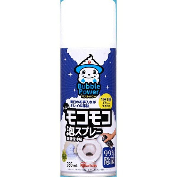 アイリスオーヤマ トイレのモコモコ泡スプレー 335ml〔トイレ用洗剤〕