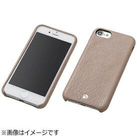 DEFF ディーフ iPhone 7 Plus用 レザーケース RONDA Spanish Leather Case ジャケットタイプ グレージュ DCS-IP7PRABSLGE
