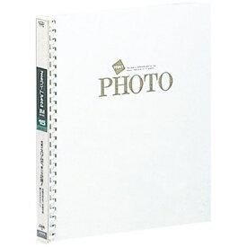 ナカバヤシ Nakabayashi フエルライトフォートアルバム「ライトフォートPP」(四つ切サイズ/白フリー) アL-JHO-121-W[アLJHO121W]