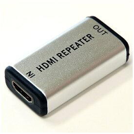 ホーリック HYBHDMI01RE 中継プラグ HORIC [HDMI⇔HDMI /イーサネット対応]