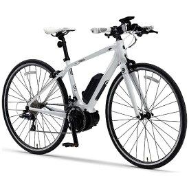 ヤマハ YAMAHA 700×28C型 電動アシストクロスバイク YPJ-C (ピュアホワイト/18段変速)【XSサイズ/430mm】【組立商品につき返品不可】 【代金引換配送不可】
