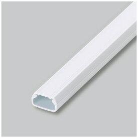 マサル工業 テープ付ニュー・エフモール 1号ホワイト 2m BSFT1202 【日本製】