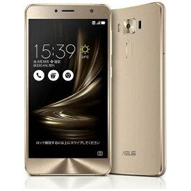 ASUS エイスース ZenFone3 Deluxe Series「ZS550KL-GD64S4」 ゴールド Snapdragon 625 5.5型・メモリ/ストレージ:4GB/64GB microSIM×1、nano×1 ドコモ/au/Ymobile SIM対応 SIMフリースマートフォン[スマホ 本体 新品 ZS550KLGD64S4]