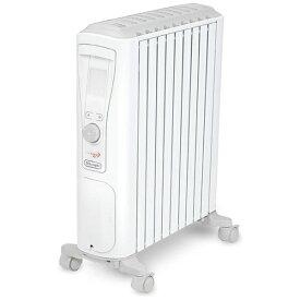 デロンギ Delonghi RHJ75V0915 オイルヒーター ベルカルド ピュアホワイト+シルクグレー [最大13畳][タイマー付き 暖房器具 RHJ75V0915]