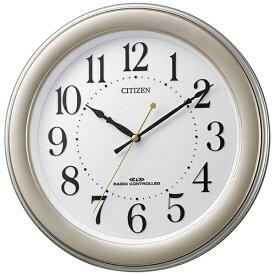シチズン CITIZEN 掛け時計 ゴールドメタリッリック 8MY509-018 [電波自動受信機能有]