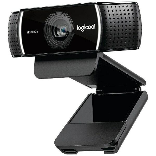 ロジクール C922 ウェブカメラ ブラック [有線][C922]