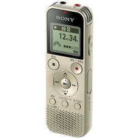 ソニー SONY ICD-PX470F ICレコーダー ゴールド [4GB][録音機 ボイスレコーダー 小型 高音質 長時間]