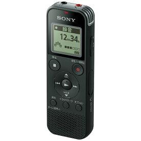 ソニー SONY ICD-PX470F ICレコーダー ブラック [4GB][録音機 ボイスレコーダー 小型 高音質 長時間]