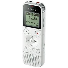 ソニー SONY ICD-PX470F ICレコーダー ホワイト [4GB][録音機 ボイスレコーダー 小型 高音質 長時間]