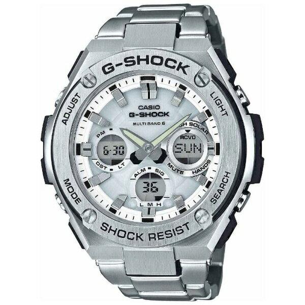 カシオ CASIO G-SHOCK(G-ショック) 「G-STEEL(Gスチール)MULTI BAND 6」 GST-W110D-7AJF[GSTW110D7AJF]