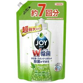 P&G ピーアンドジー JOY(ジョイ)除菌ジョイ コンパクト 緑茶の香り つめかえ用 超特大 1065ml〔食器用洗剤〕
