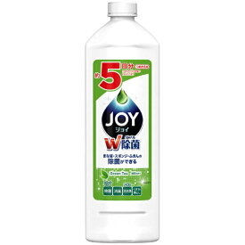 P&G ピーアンドジー JOY(ジョイ)除菌ジョイ コンパクト 緑茶の香り つめかえ用 特大 770ml〔食器用洗剤〕