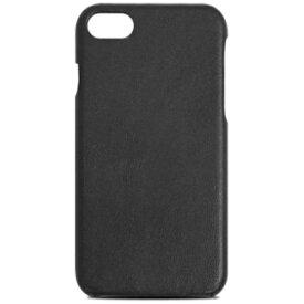 ラディウス radius iPhone 7用 高品質レザーケース 背面 ブラック RK-PUC01K