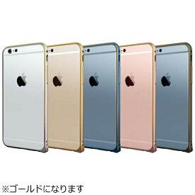 ラディウス radius iPhone 7用 超軽量アルミバンパー ゴールド RK-AUC01N