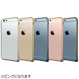 ラディウス radius iPhone 7用 超軽量アルミバンパー ピンク RK-AUC01P